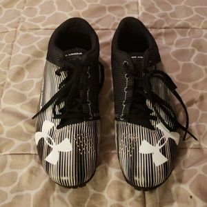 Under Armor racing shoes